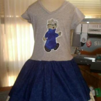 The Chipmunks Simon Tee Dress