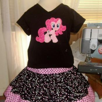My Little Pony Pinky Pie Skirt Set